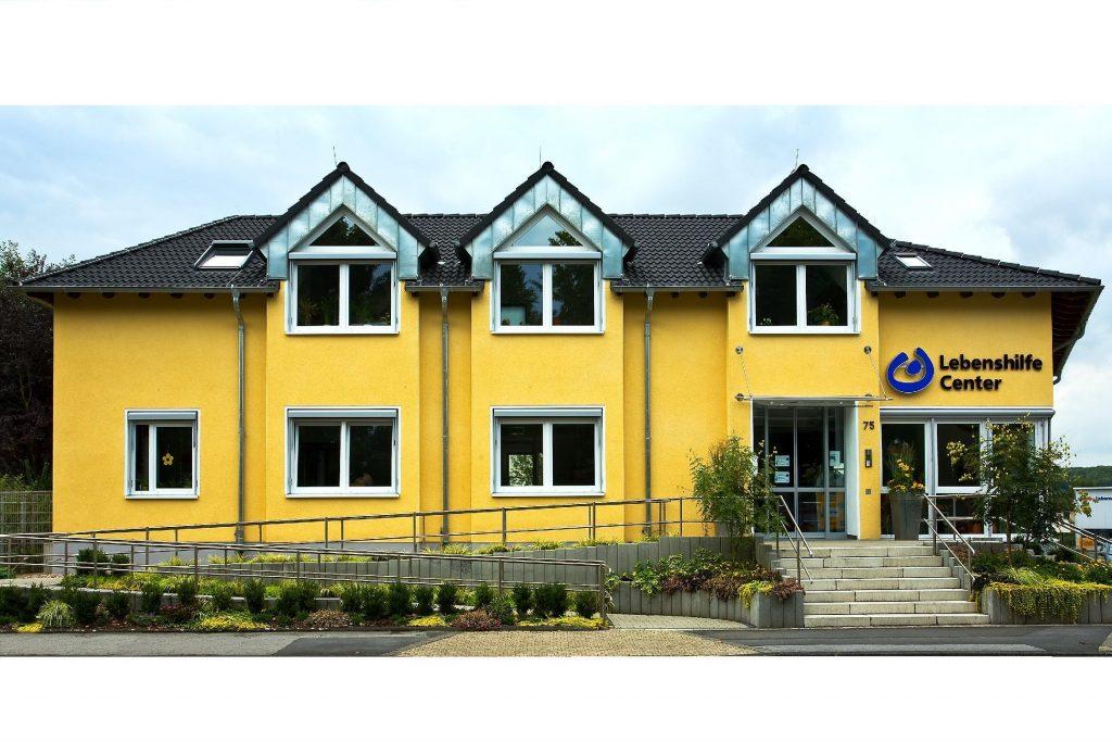 Das Bild zeigt das Lebenshilfe-Center an der Dortmunder Straße.