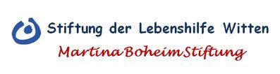 Das Bild zeigt das Logo der Martina Boheim-Stiftung.