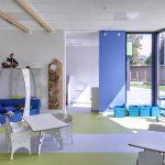 Das Bild zeigt einen der Gruppenräume.