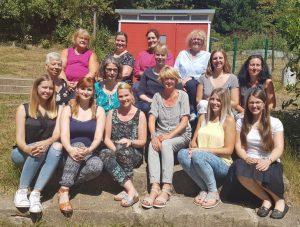 Das Bild zeigt das Team der Kita Helenenberg.