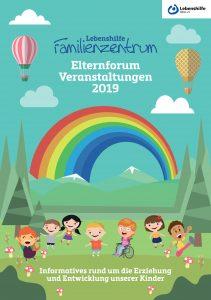 Das Bild zeigt die Titelseite des Jahresprogramms.