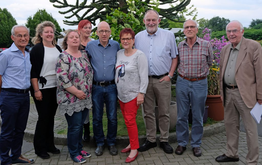 Das Bild zeigt die Vorstandsmitglieder der Lebenshilfe Witten.