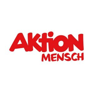 Das Bild zeigt das Logo der Aktion Mensch.