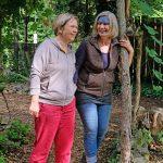 Das Bild zeigt Heike Guthardt von der SoVD-Lebenshilfe und Susanne Sinzig von der NaWit.