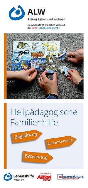 Flyer Heilpädagogische Familienhilfe